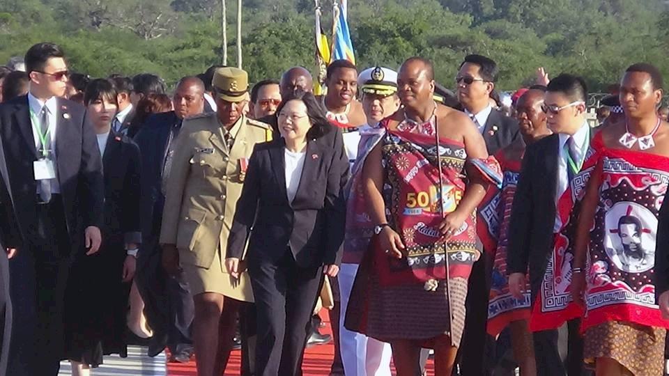 史瓦帝尼國王染疫痊癒 公開感謝蔡總統贈治療藥物