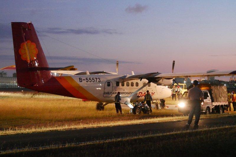 德安航空落地意外 高雄機場關閉2小時