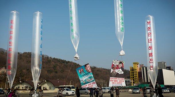 北韓怒了 備妥空飄傳單展開報復性懲罰