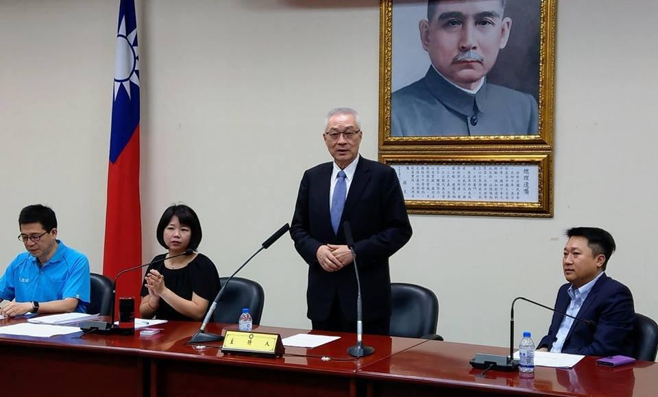 百萬新住民 吳敦義盼代表國民黨投入選舉
