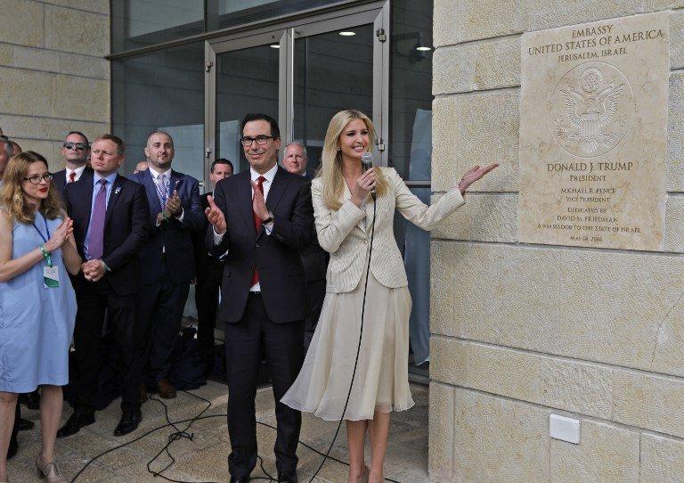 美駐耶路撒冷使館 正式啟用