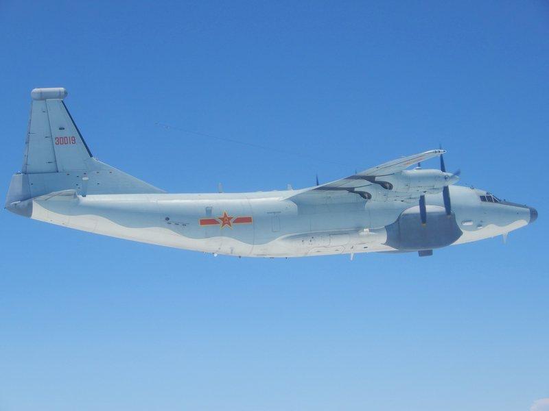 共機沿M503飛行 空軍:非事實