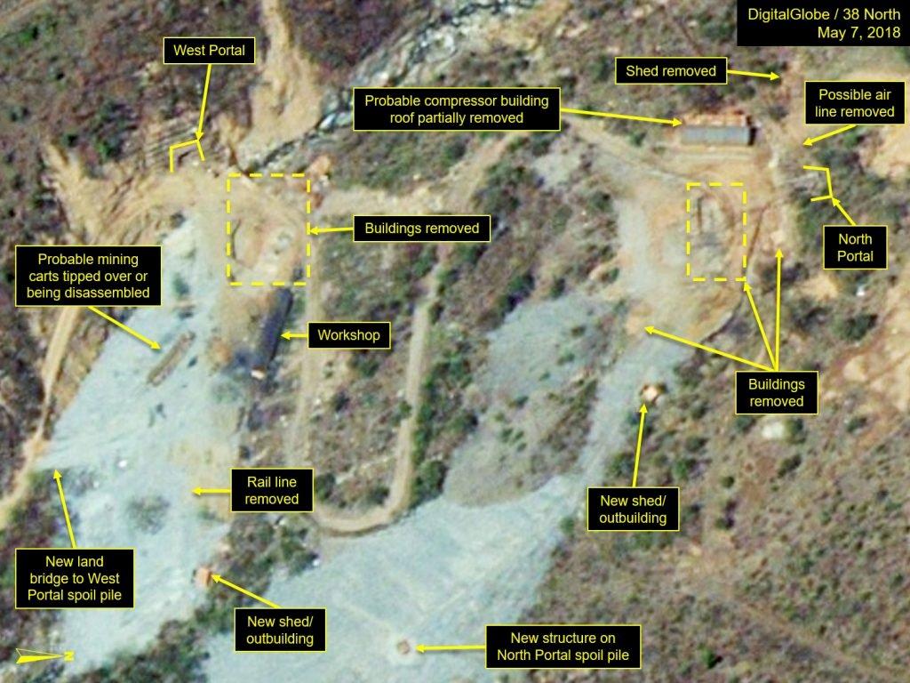 美研究機構:北韓開始拆除核試場