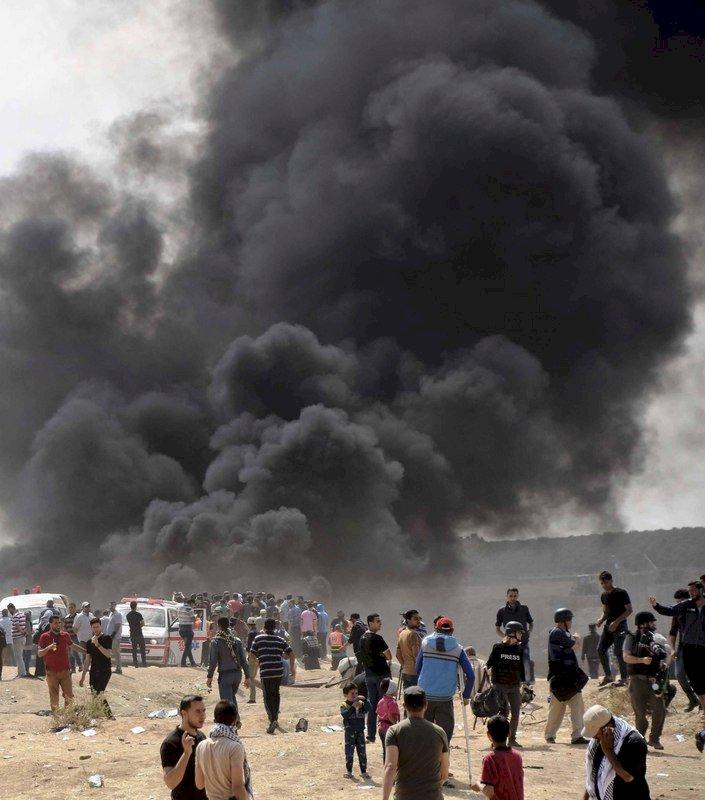 巴勒斯坦人續抗議 增至61死