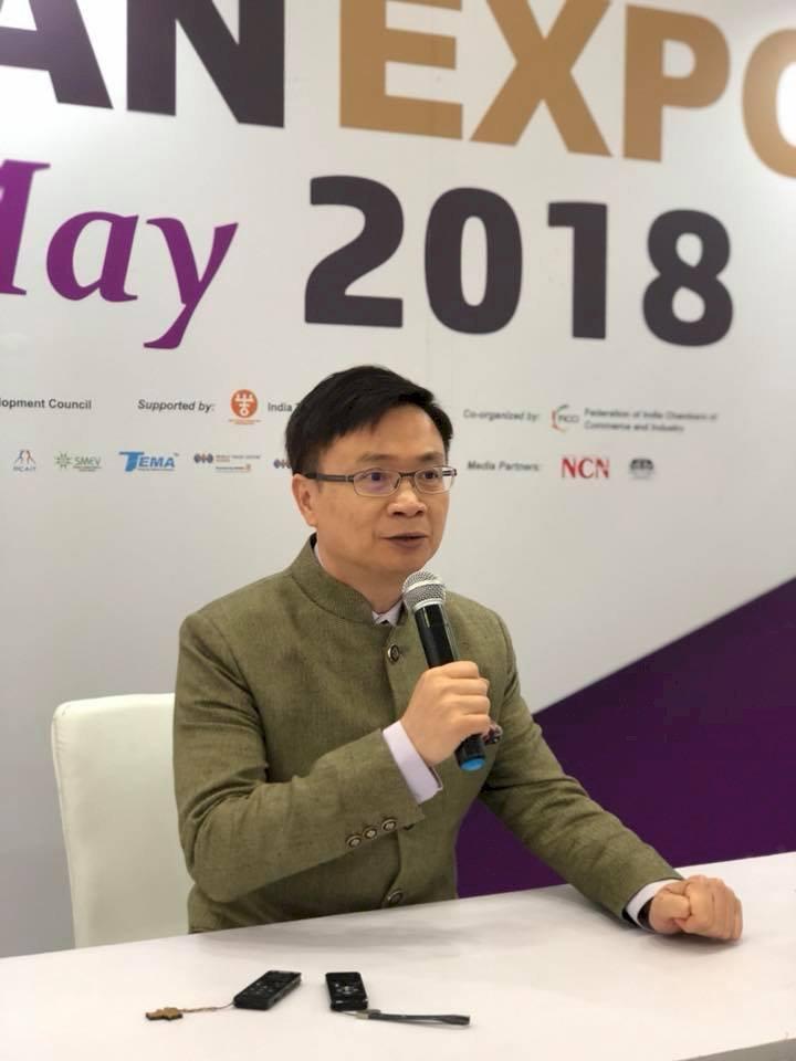 台灣形象展印度登場 電動車業者傳佳績