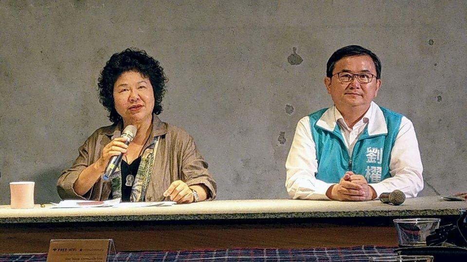 陳菊:蔡總統與賴清德兩岸主張一致