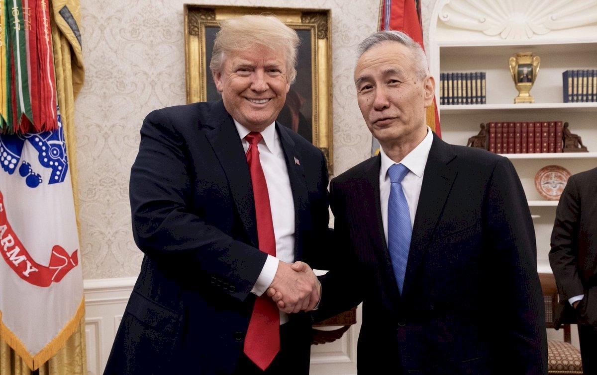 美中持續貿易談判 川普將在白宮會劉鶴