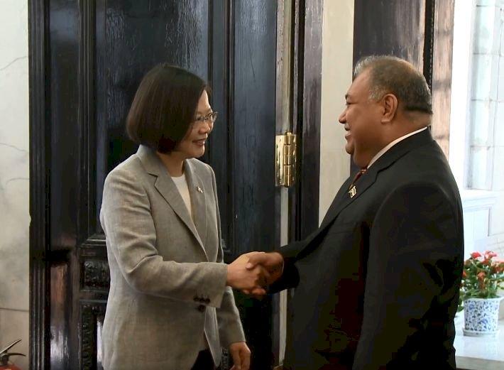 邦誼堅實篤睦 諾魯總統今訪台