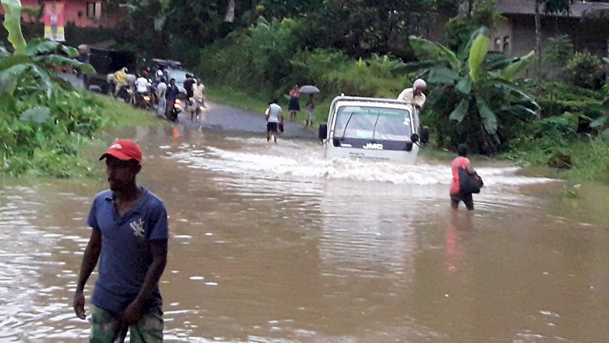 斯里蘭卡季風暴雨加土石流 至少5死
