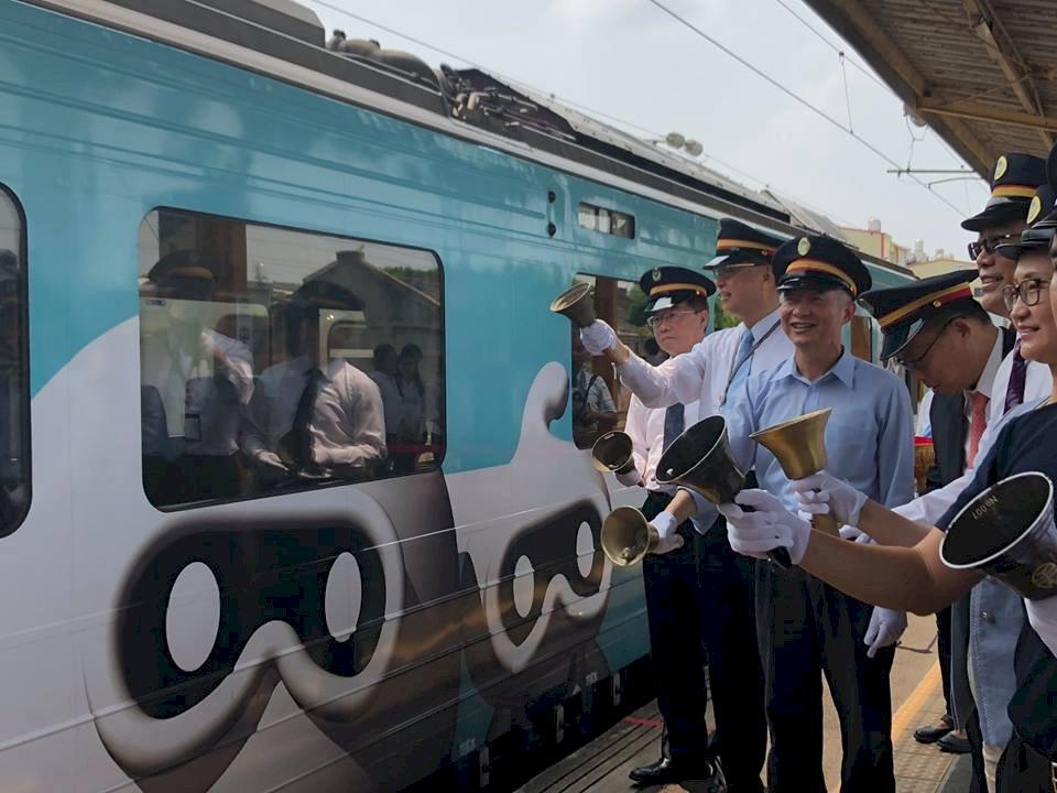 集集觀光鐵支隊彩繪列車首航 深化台日交流
