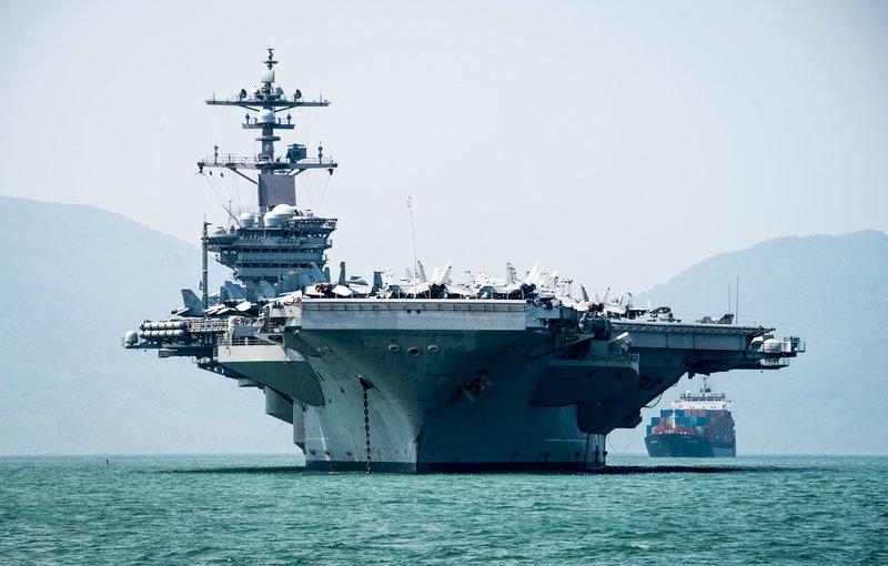 美中台角力新舞台 美派軍艦過台灣海峽?