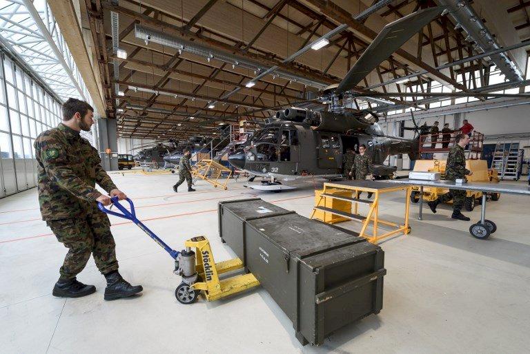 瑞士軍售下滑 擬有條件出口軍品至內戰國家