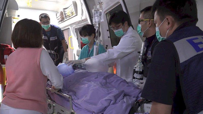 傘兵秦良丰轉院三總 跨科醫療全力照顧