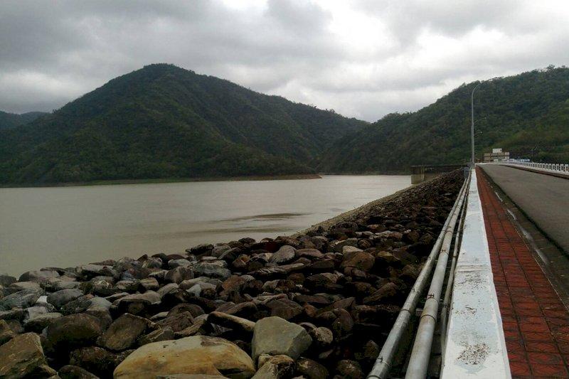 強降雨挹注 屏東牡丹水庫調節水量