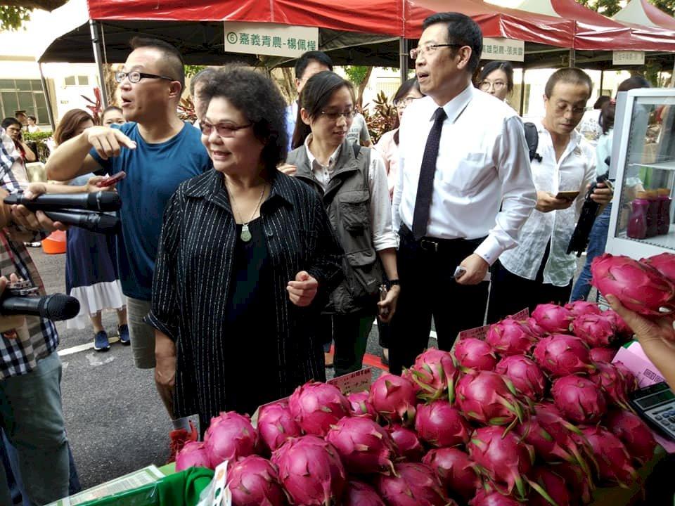 陳菊要農委會檢討遭批越權 府:沒有憲政問題