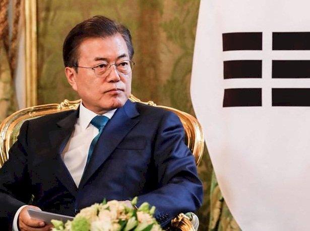 南韓總統敦促 美國北韓推進非核化協議