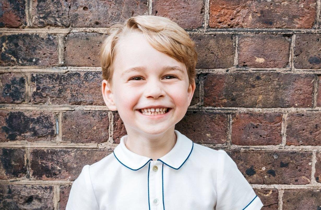 天使笑容 英國喬治王子5歲生日快樂
