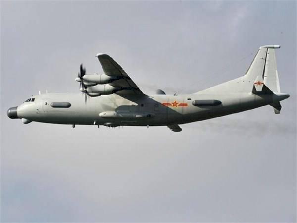 共軍運9通信對抗機 今再度侵擾台灣ADIZ