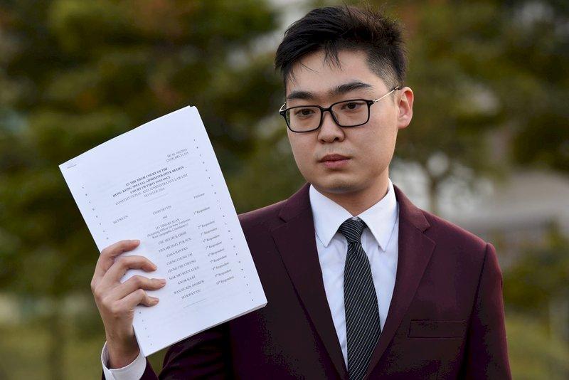 香港民族黨被禁 陳浩天提交上訴書