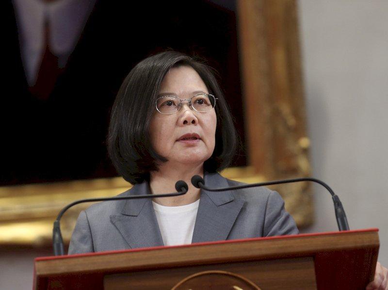 接見日眾議員 總統:中國打壓讓民主國家更緊密