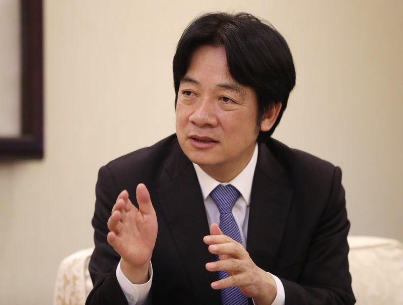 賴揆:中國鴨霸 併吞台灣企圖從沒改變