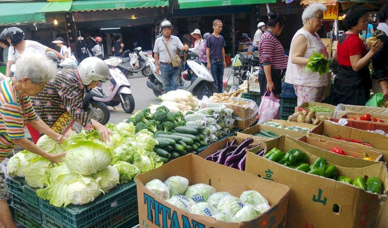 菜價漲16.3% 農糧署:豪雨加中元節休市