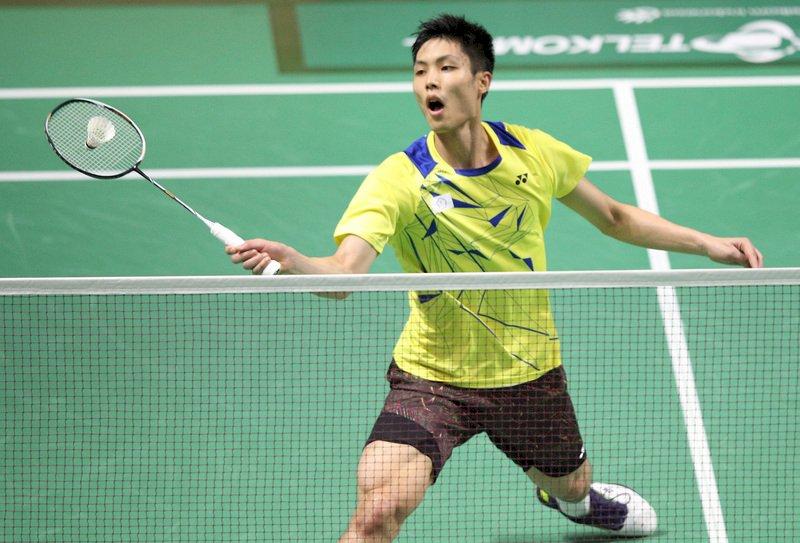 周天成亞錦賽晉級四強 20年來台灣男單最佳