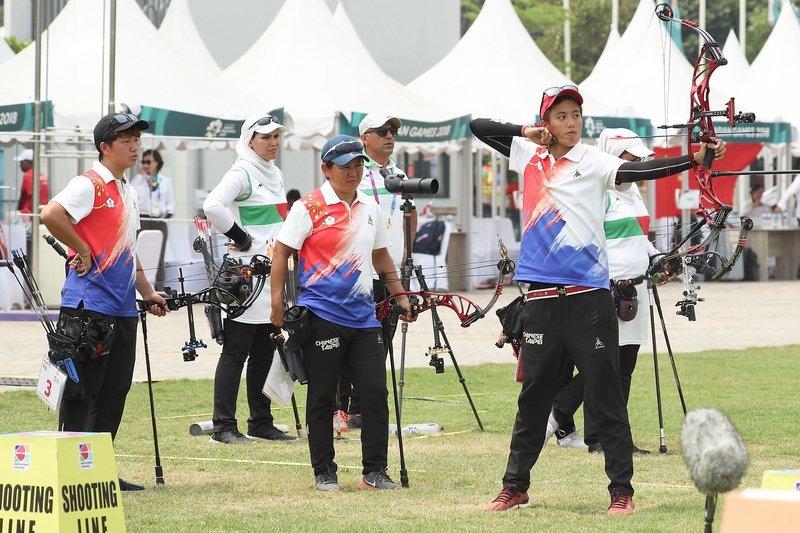 印尼亞運/中華射箭2金1銀1銅 歷屆最佳
