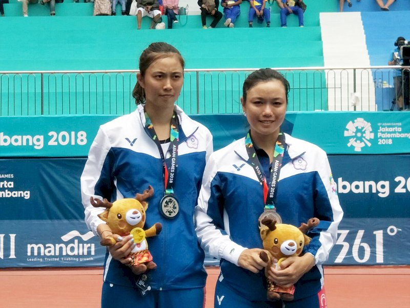 印尼亞運/20年網球首次零金 跆拳道平隊史最差