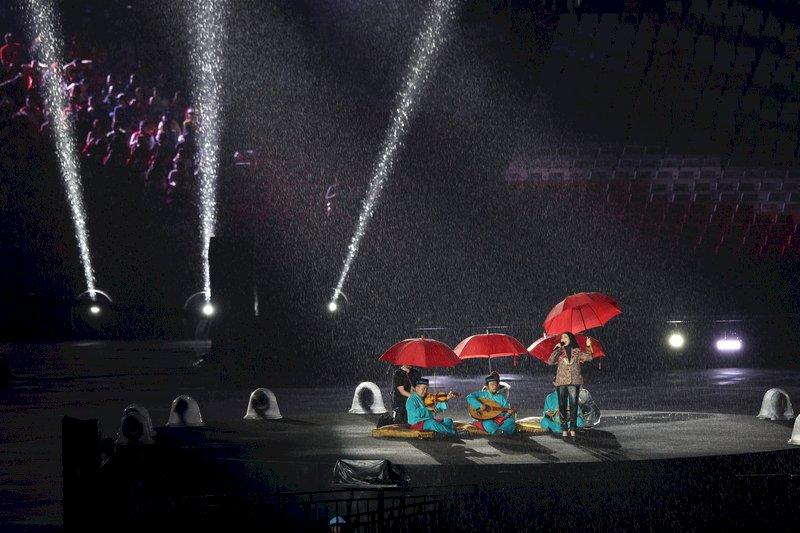 印尼亞運/雨中落幕 馬雲邀4年後共赴杭州
