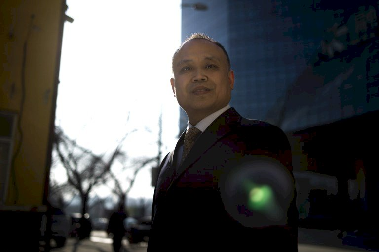 遭囚的中國維權律師余文生 獲馬丁恩納斯人權獎