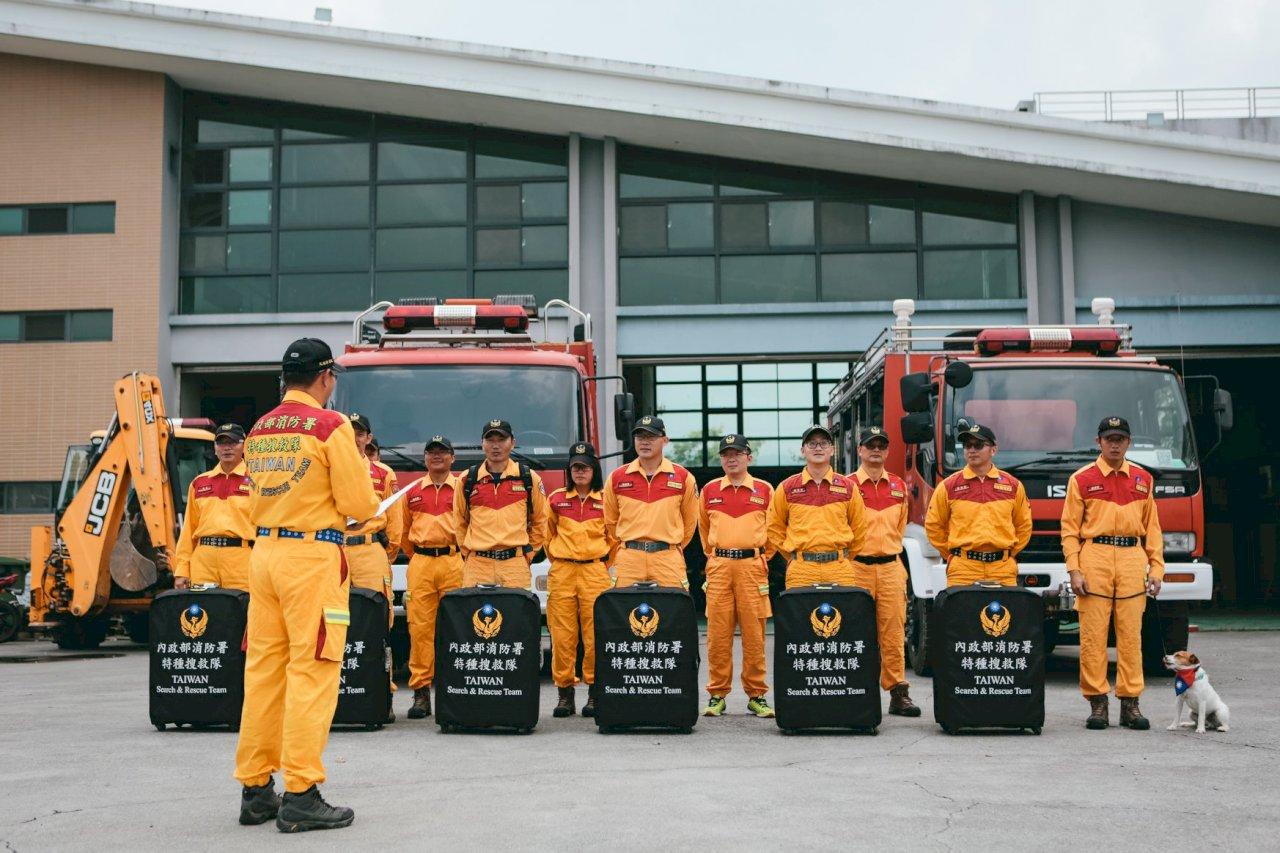 北海道強震 內政部:整裝待命隨時可前往救災