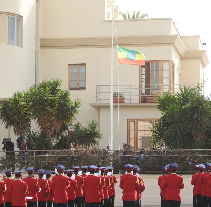 衣索比亞重開駐厄利垂亞大使館