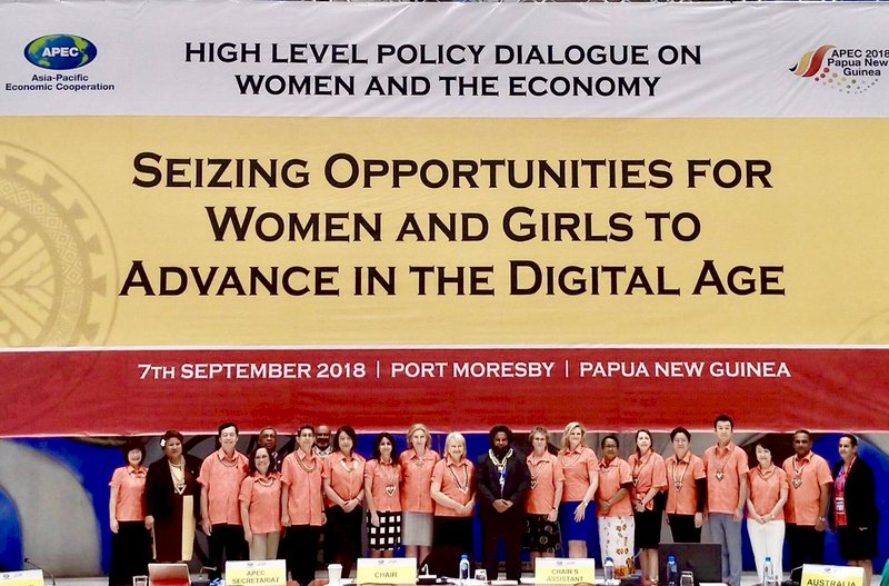 APEC婦女經濟論壇 台灣女性領導力獲認同
