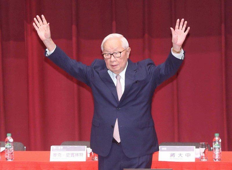 張忠謀任APEC領袖代表? 府未證實
