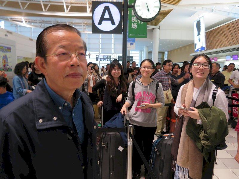 北海道強震後 千餘受困台灣旅客已返國