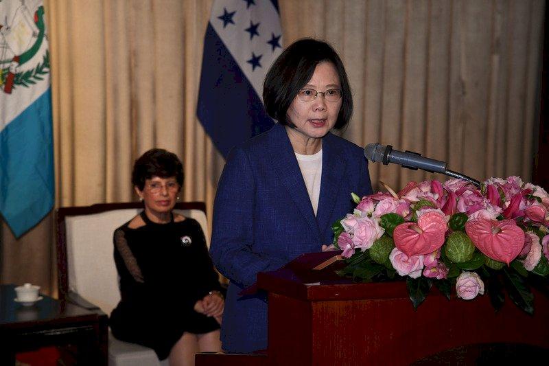 中國打壓 總統:只會強化我與中美洲邦誼