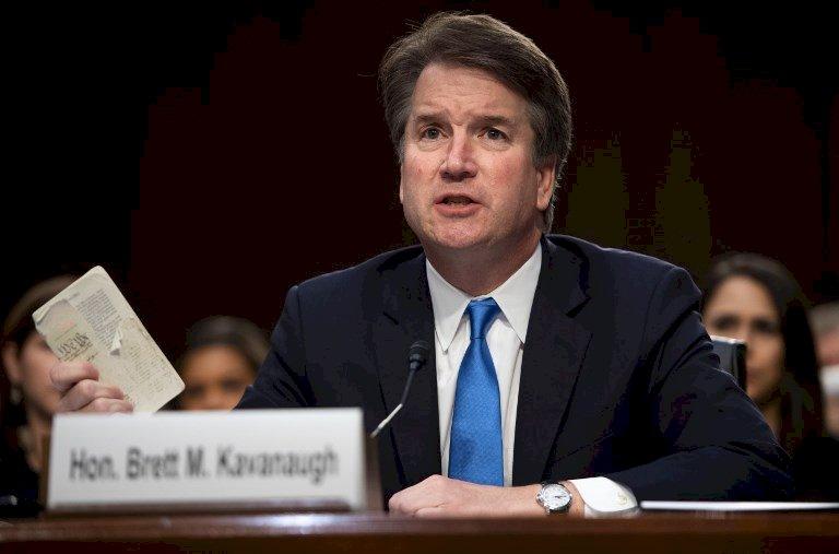 卡瓦諾任大法官 川普讚參院批指控女子搞錯人