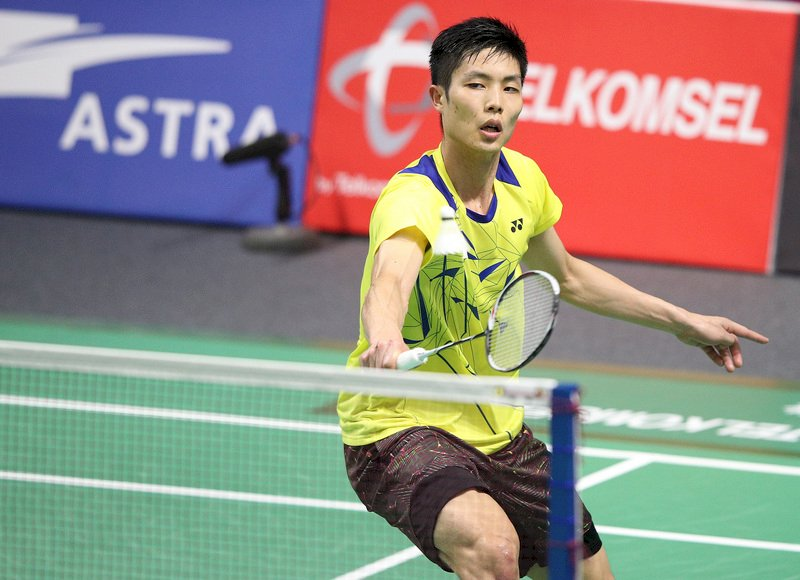 中國羽球公開賽 周天成拍落許仁豪過關