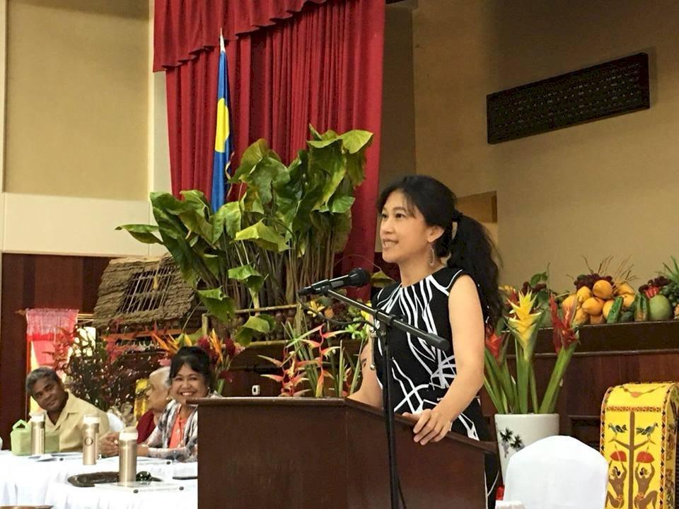 行政院發言人Kolas受邀帛琉演說  創下首例