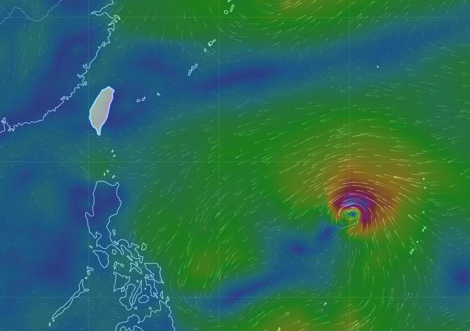 中秋連假明變天 潭美颱風28日最靠近台灣