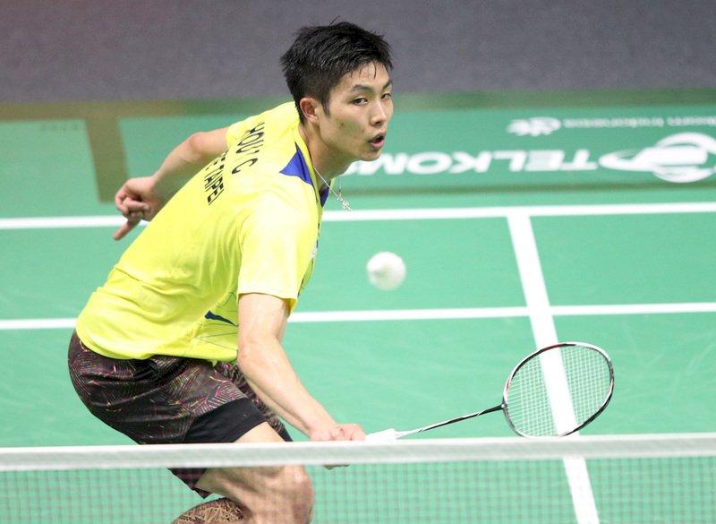 南韓羽球公開賽 周天成逆轉搶下決賽門票