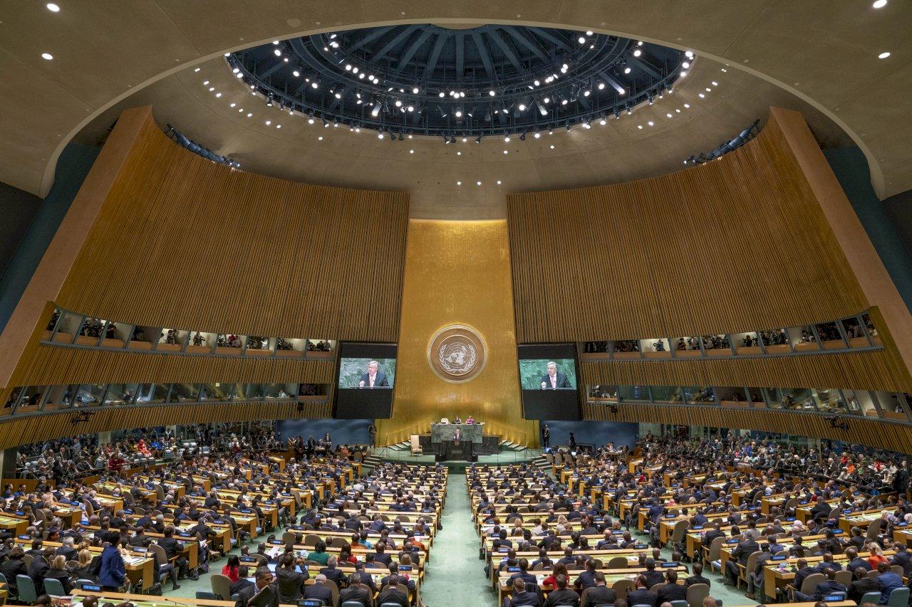 聯合國大會9月登場 考慮限制代表團人數親自赴會