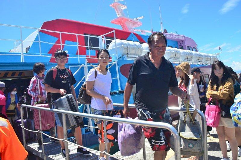 康芮颱風外圍影響 台東客輪3日至5日取消
