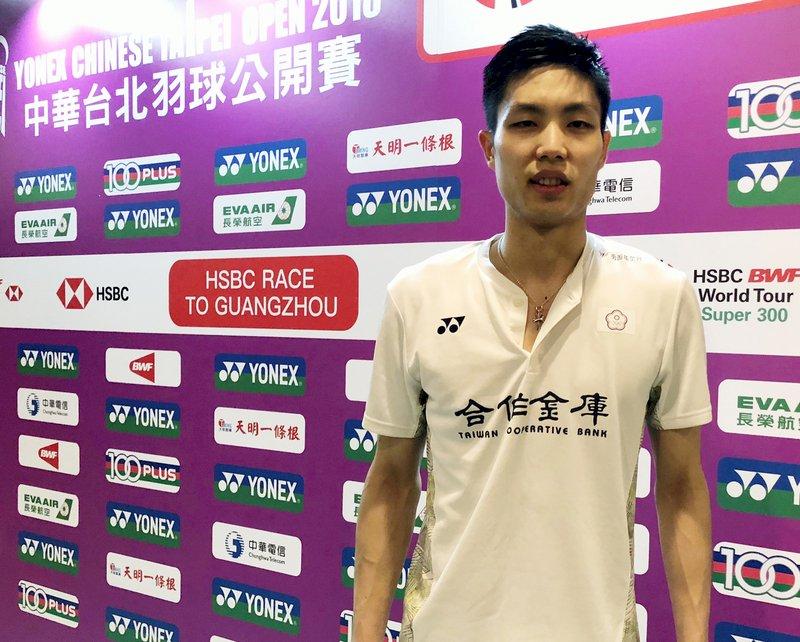 台北羽賽周天成挺進8強 宋碩芸明對決戴資穎