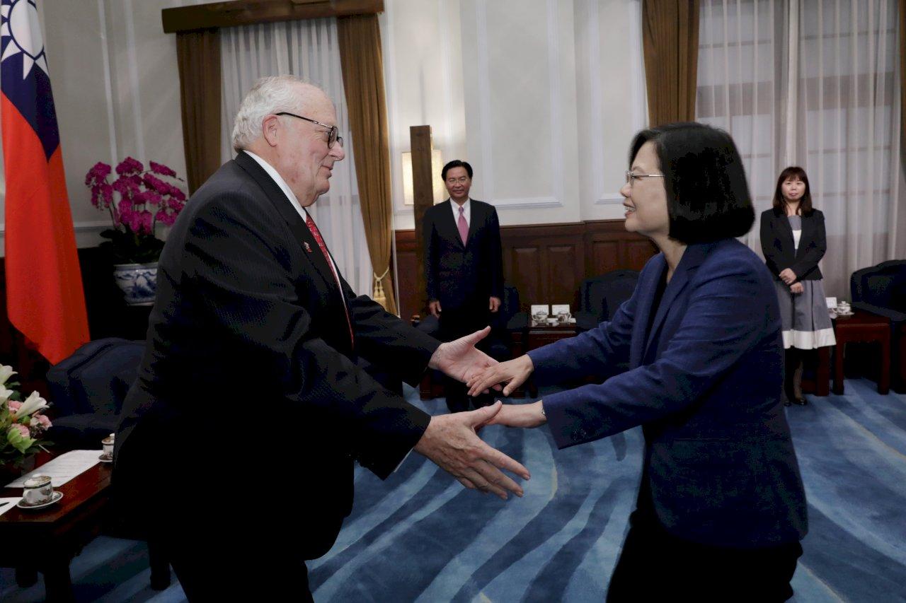 總統:台美是最堅實盟友 也是最可靠貿易夥伴