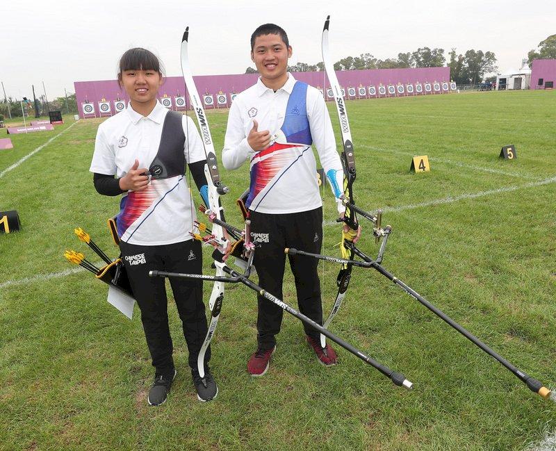 青奧射箭 張容嘉不敵南韓8強止步 湯智鈞拚晉級