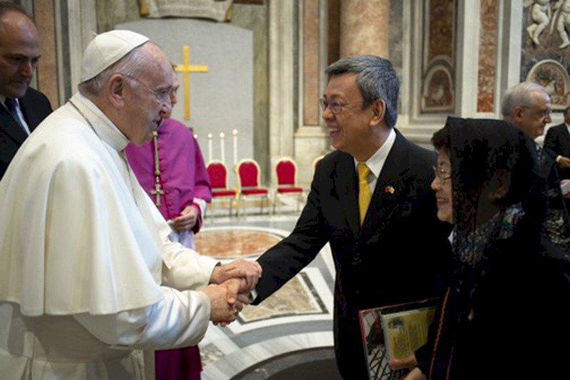 前副總統陳建仁獲教宗任命教廷宗座科學院院士