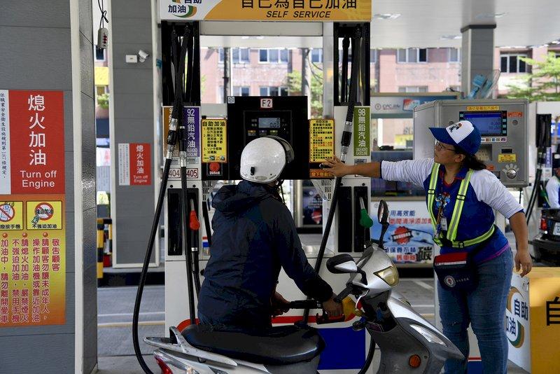 升幅27個月最大 中油汽柴油漲1.1與1.2元