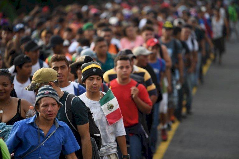 篷車大軍夢碎 墨西哥遣返2300宏都拉斯人